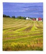 Wisconsin Dawn Fleece Blanket