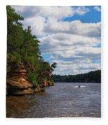 Wisconsin Dells Jetski Fleece Blanket