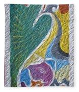 Wisdom And Peace I Fleece Blanket