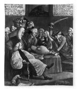 Wise Men Of Gotham, 1776 Fleece Blanket