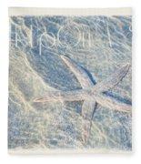 Wish Upon A Star Fleece Blanket