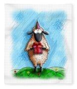 Wishing Ewe  Fleece Blanket