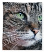 Wishing You Were Home Fleece Blanket
