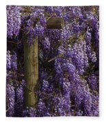 Wisteria Fleece Blanket