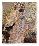 Witch Spirit At The Catfish Plantation Restaurant Fleece Blanket