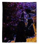 Witch Walk 1 Fleece Blanket