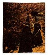 Witch Walk 2 Fleece Blanket