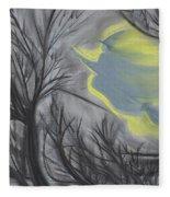 Witch Wood By Jrr Fleece Blanket