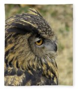 Wize Owl 2 Fleece Blanket