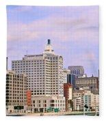 Wkrp In Cincinnati Fleece Blanket