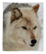 Wolf Expressions Fleece Blanket
