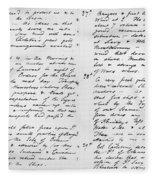 Wolfe Journal, 1759 Fleece Blanket