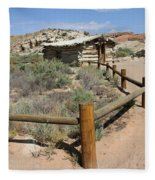 Wolfes Ranch - Arches Nationalpark Fleece Blanket