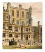 Wollaton Hall, Nottinghamshire, 1600 Fleece Blanket