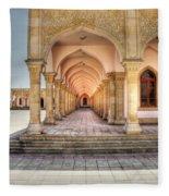 Woman's Mosque Fleece Blanket