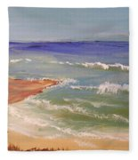 Wombarra Beach Fleece Blanket