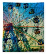 Wonder Wheel Fleece Blanket