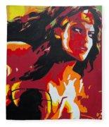 Wonder Woman - Sister Inspired Fleece Blanket