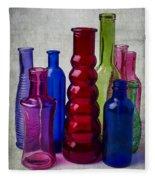 Wonderful Glass Bottles Fleece Blanket
