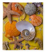 Wonderful Sea Life Fleece Blanket