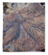 Wood Design Fleece Blanket