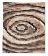 Wood Patterm Fleece Blanket