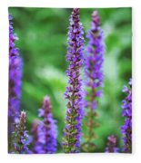 Wood Sage Fleece Blanket