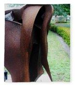 Wooden Horse5 Fleece Blanket