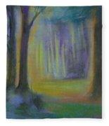 Woodland At Wilsonia Fleece Blanket
