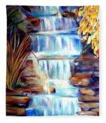 Woodland Oasis Fleece Blanket