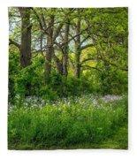 Woodland Phlox   Fleece Blanket