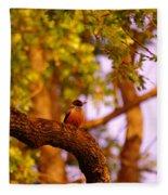 Woodpeckers Of Fort Simcoe Fleece Blanket