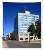 Springfield Missouri - Woodruff Building Fleece Blanket
