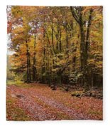 Woods Walk Fleece Blanket