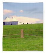 Woodstock Hill Of Peace Fleece Blanket