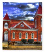 Woodville Baptist Church 2 Fleece Blanket