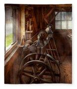 Woodworker - The Art Of Lathing Fleece Blanket