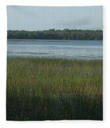 Worden Pond Afternoon Fleece Blanket