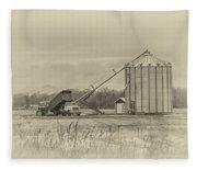 Working Farm Fleece Blanket