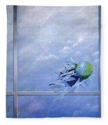 World Breaking Glass Fleece Blanket
