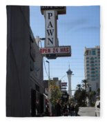World Famous Gold And Silver Pawn Shop Fleece Blanket