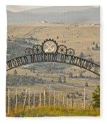 World Museum Mining Fleece Blanket