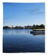 World Showcase Lagoon Walt Disney World Fleece Blanket