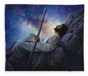 Worlds Without End Fleece Blanket
