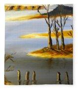 Woronorda Dam Fleece Blanket