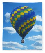 Would You Like To Fly Fleece Blanket