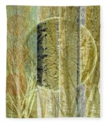 Woven Branches Fleece Blanket