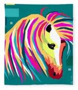 Wpap Horse Fleece Blanket