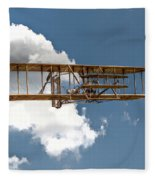 Wright Brothers First Flight Fleece Blanket
