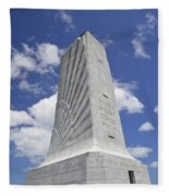 Wright Brothers Memorial Fleece Blanket